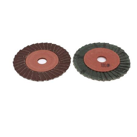 – Lot de 2 disques de pon age pour meuleuse d'angle, grain 180. 100 mm - image 1 de 1