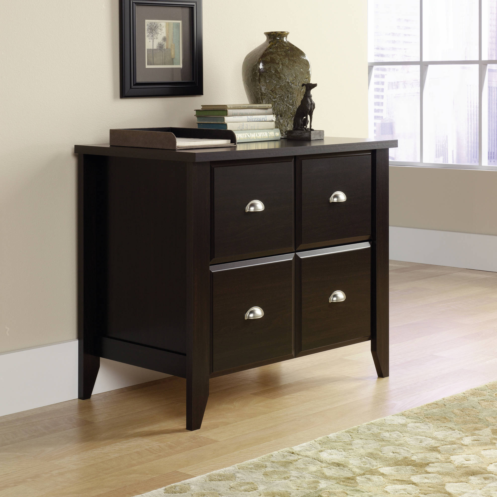 Sauder Shoal Creek 2 Drawer Lateral File, Jamocha Wood Finish   Walmart.com