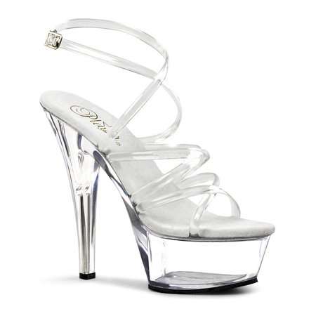 6 Inch Sexy High Heel Shoe Strappy Sandal Platform Shoes
