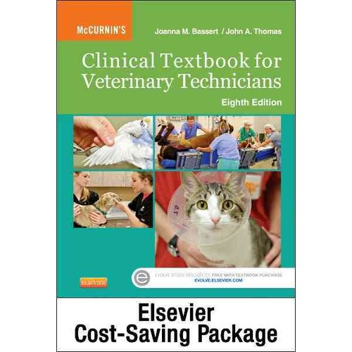 McCurnin's Clinical Textbook for Veterinary Technicians - Text and Elsevier Adaptive Quizzing Package