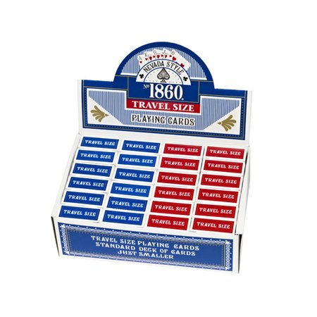 Nevada Style Mini Playing Card (Set of 24) (Set of 24) (Mini Playing Cards)