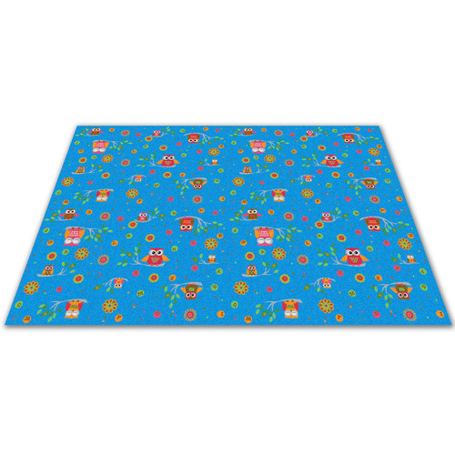 Kid Carpet Counting Owls with ABCs Kids Rug
