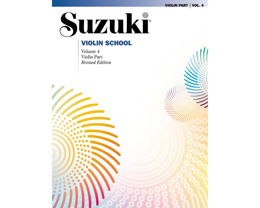 Alfred 00-0150S Suzuki Violin School Violin Part- Volume 4 Music Book by Alfred