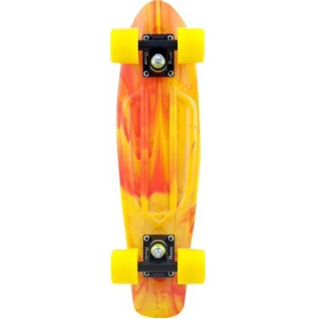 Penny Complete 22-Inch Marble Skateboard Yellow/Red ()