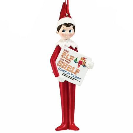 Department 56 Elf On The Shelf Elf Reading Book Christmas Ornament 4051638 New ()