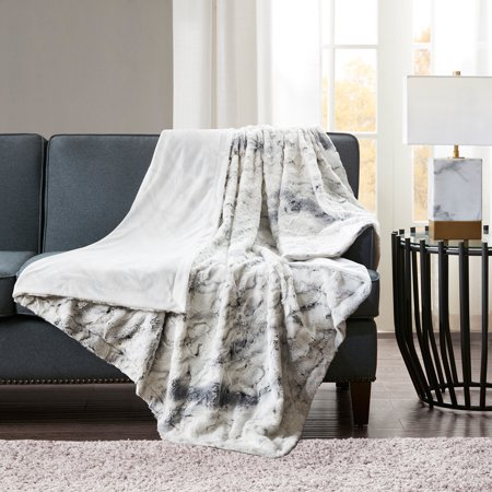 Home Essence Aina Oversized Faux Fur Throw by Home Essence