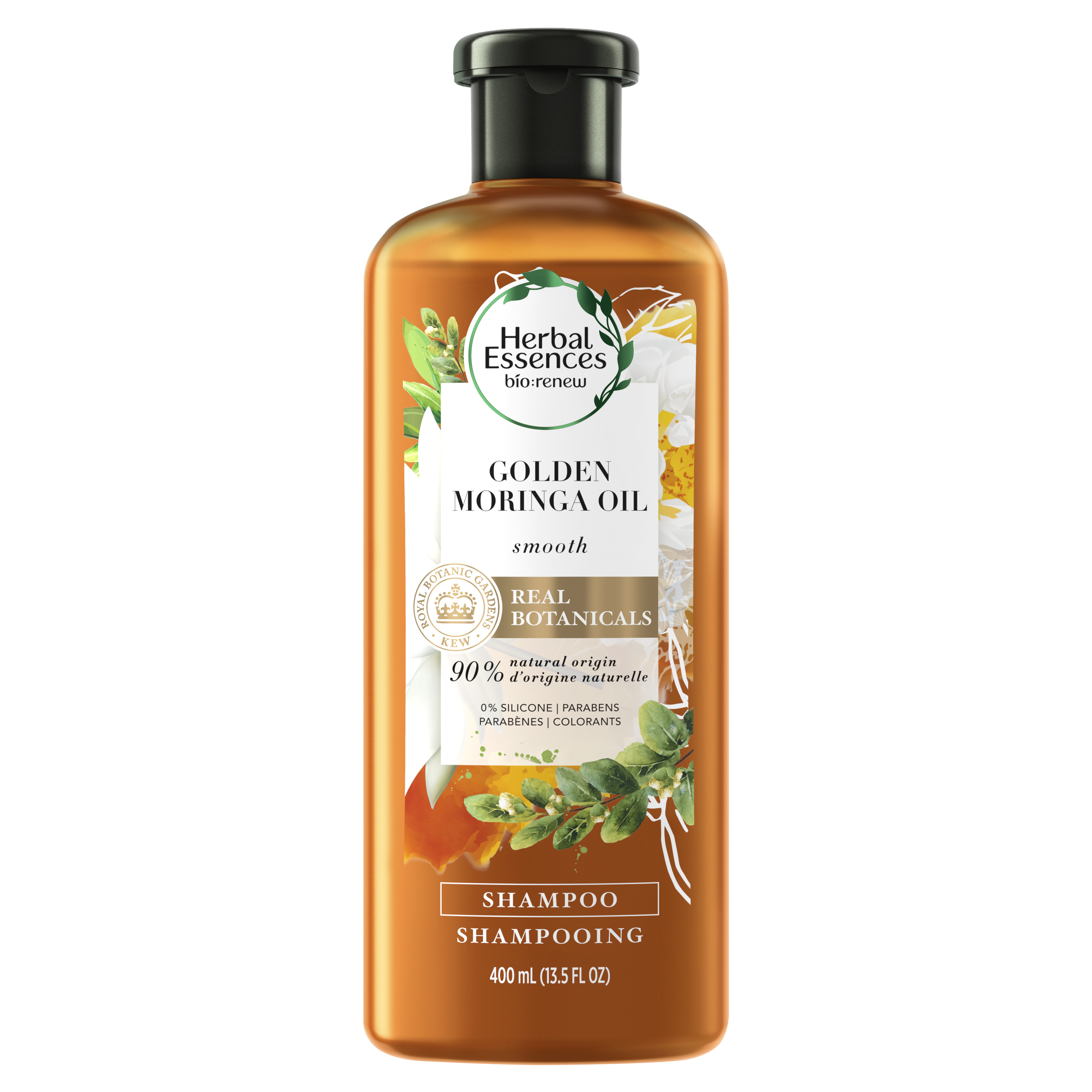 Herbal Essences bio:renew Golden Moringa Oil Smoothing Shampoo, 13.5 fl oz