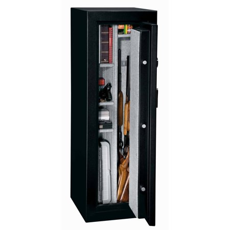 Stack On 10 Gun Sentinel Fire Resistant Safe With Combination Lock
