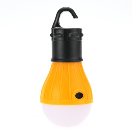 1pc Outdoor Hanging 3 LED Lights Camping Tent Bulb Portable Fishing Lantern Lamp ()