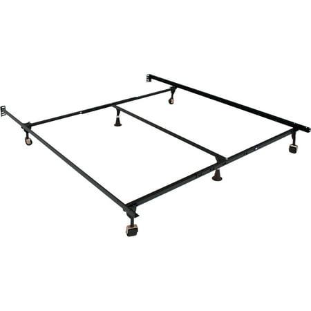 miBasics Metal Adjustable Bed Frame, Multiple Sizes - Walmart.com