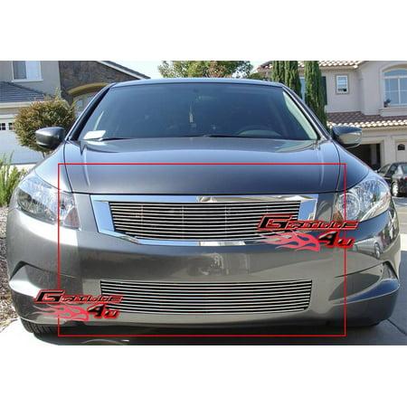 Honda Accord Billet Grille - Fits 08-10 Honda Accord Sedan Billet Grille Combo #H67792A