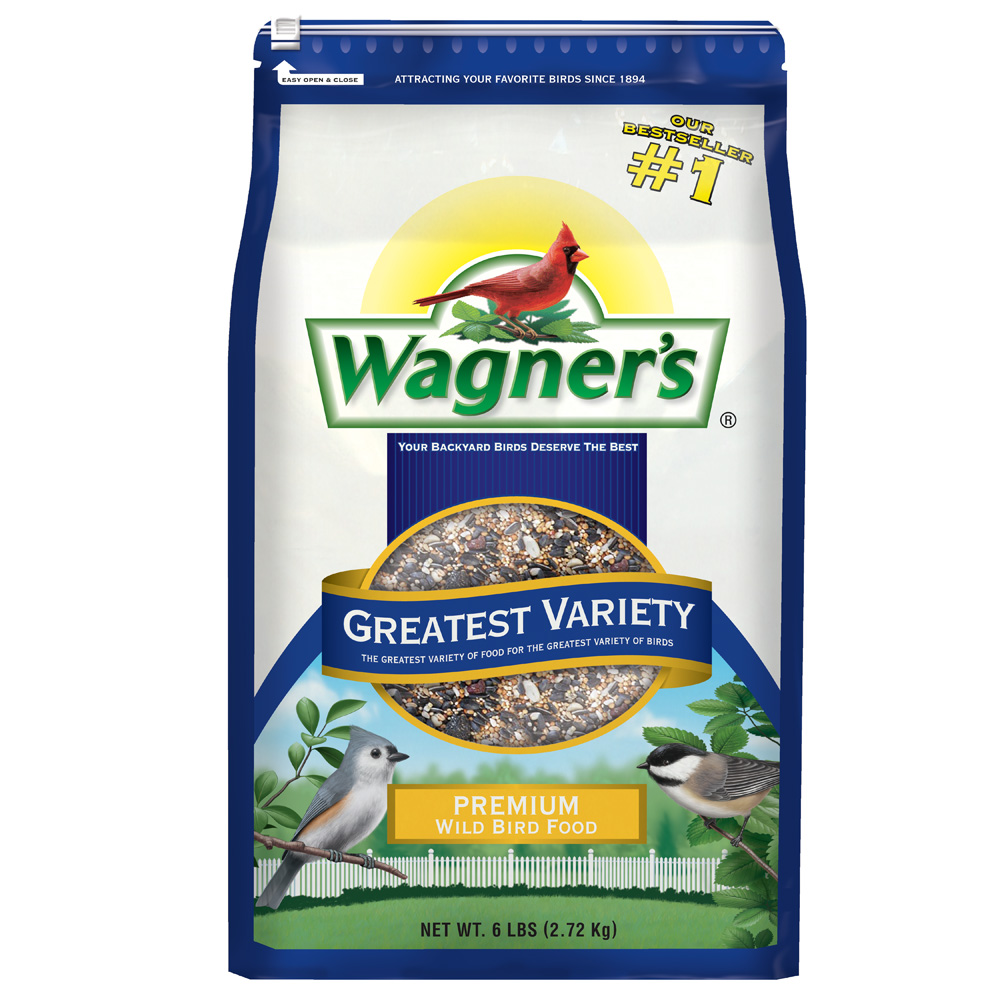 WAGNER'S 6 LB GREATEST VARIETY PREMIUM BIRD FOOD