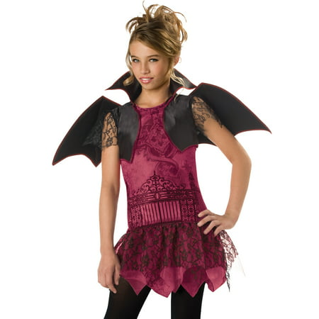 Vampire Witch Twilight Girls Teens Kids Dracula Halloween Costumes (Diy Dracula Costume)