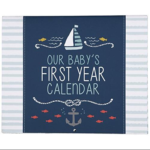 Carters First Year Calendar, Under The Sea Multi-Colored