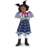 Girls Vampirina Costume Outfit Halloween Dress Up Toddler Baby Christmas Cosplay Outfit Kids Party Dresses