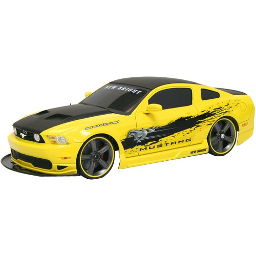 New Bright 1:10 R/c F/f 6.4v Mustang Boss