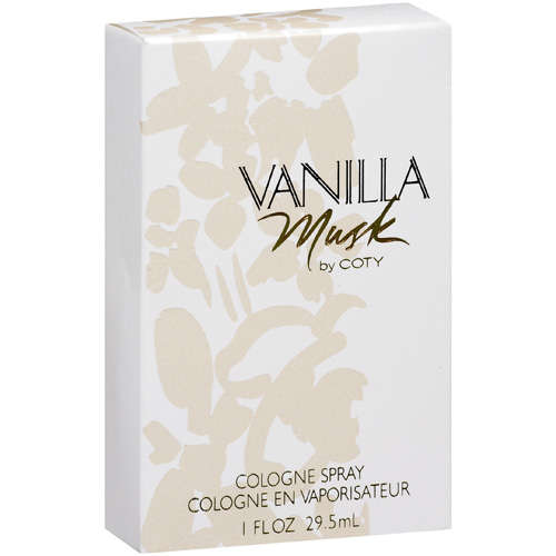 Coty Vanilla Musk Cologne Spray, 1 fl oz