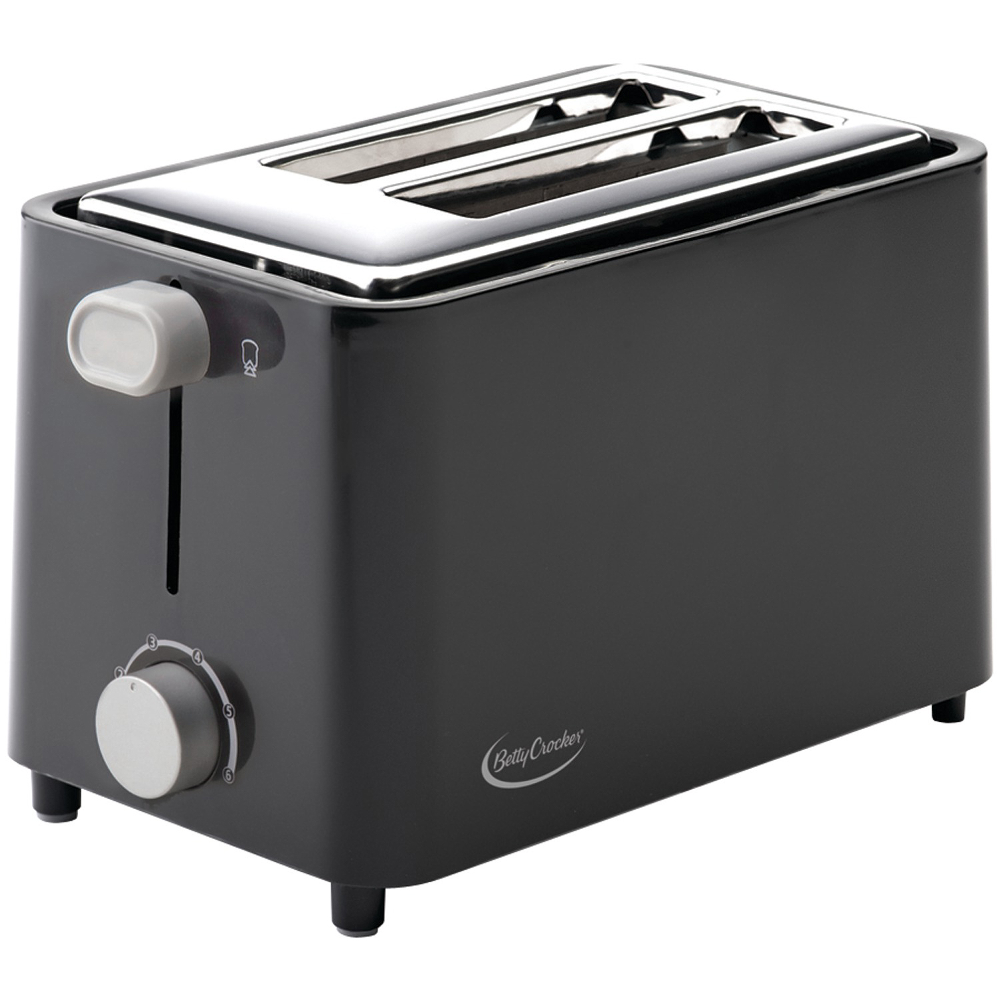 Betty Crocker 2-Slice Toaster, Black by BETTY CROCKER