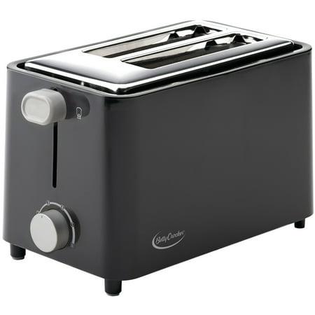 Betty Crocker(R) BC-2605CB 2-Slice Toaster (Black)