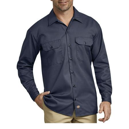 Dixie Tee Shirts - Big Men's Long Sleeve Twill Work Shirt