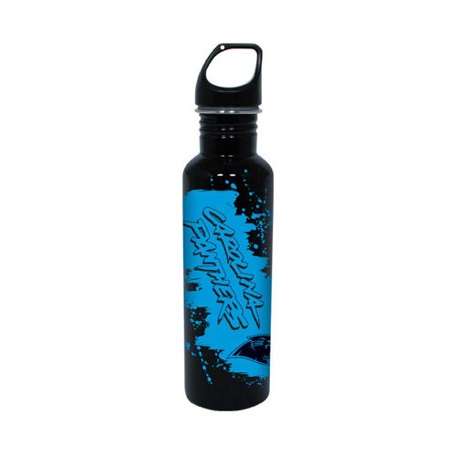 NFL - Carolina Panthers Stainless Steel Water Bottle