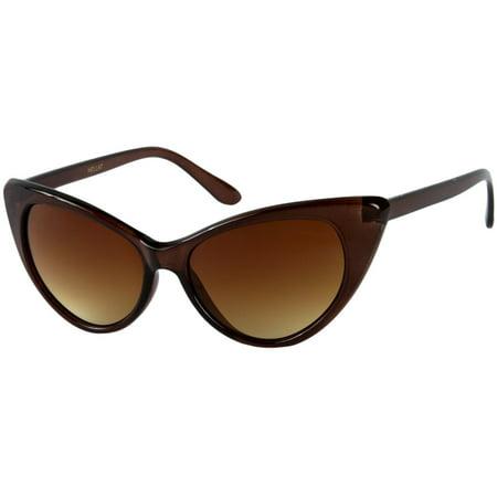 47d4ec0deb Sunglass Warehouse Sierra  1274 Womens Cat Eye Sunglasses - Walmart.com