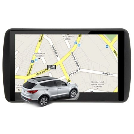 7 Inch LCD True Color Capacitive Touch Screen Car GPS Navigation 8GB ROM 256MB RAM MP3 MP4 Free Lifetime Map Updated?2017 Updated Europe Map) - image 3 de 7