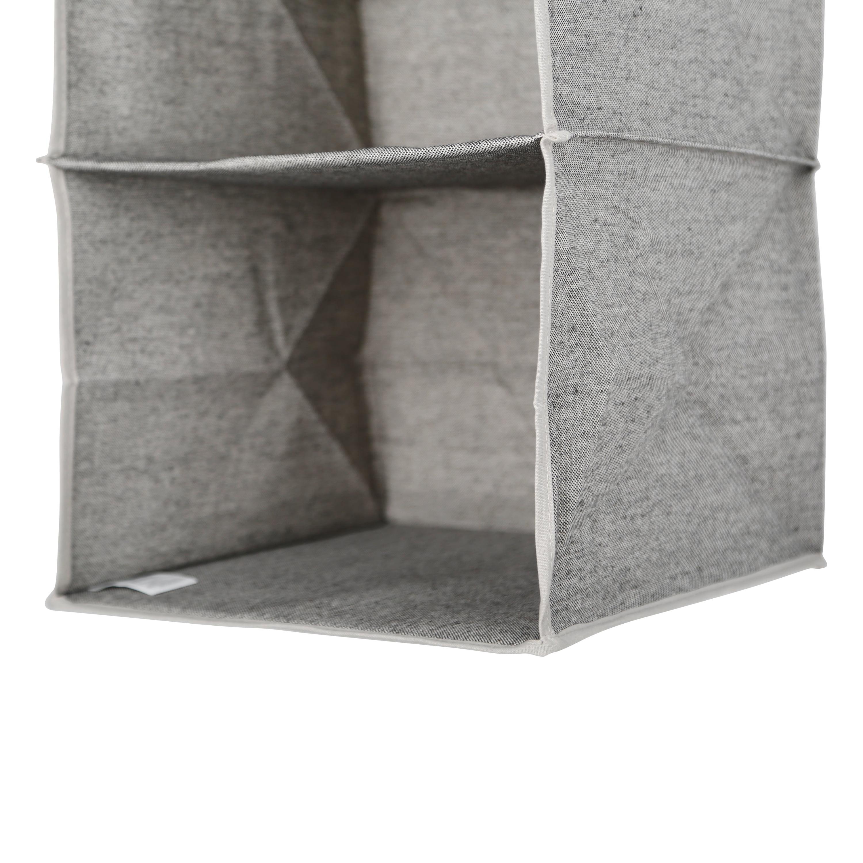 Better Homes and Gardens 10-shelf Hanging Closet Organizer W// Side Pockets Grey