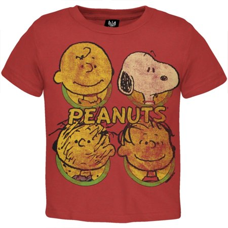 Peanuts - Heads Toddler T-Shirt](Peanuts Characters Merchandise)