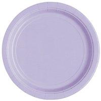 Lavender Paper Dessert Plates, 7in, 20ct