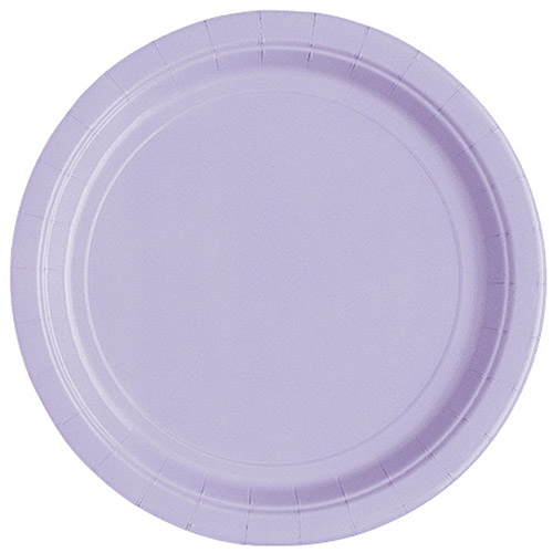 Paper Plates 7 in Lavender 20ct  sc 1 st  Walmart & Square Paper Plates 7 in Lavender 16ct - Walmart.com
