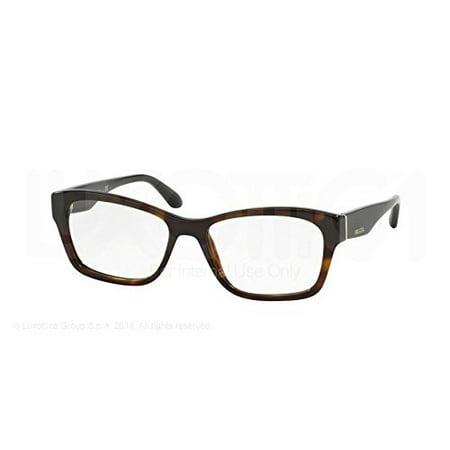 Prada Voice Eyeglasses PR24RV 2AU1O1 Havana 52 16 140 (Prada Voice)