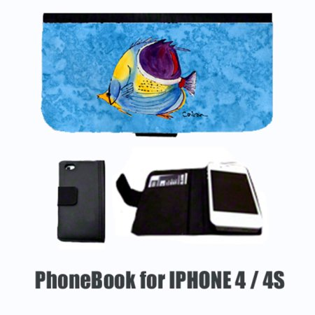 Tropical Fish  Cell Phonebook Cell Phone case Cover for IPHONE 4 or 4S - Fish Mobile
