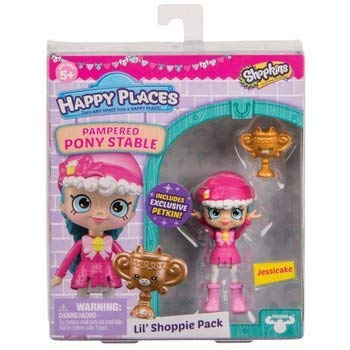 Jessicake Doll NEW SHOPKINS Happy Places Pampered Pony Stable