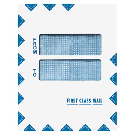 Double Window First Class Mail (Does First Class Mail Have Tracking Number)