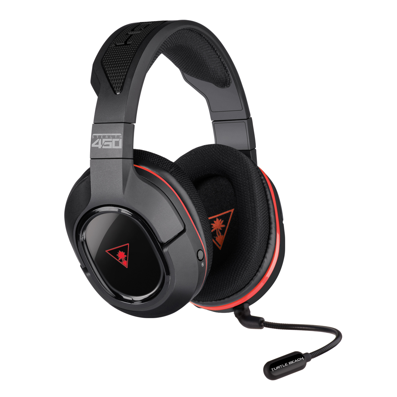 ffdaf62683f Turtle Beach Stealth 450 Wireless Gaming Headset for PC (Black) -  Walmart.com