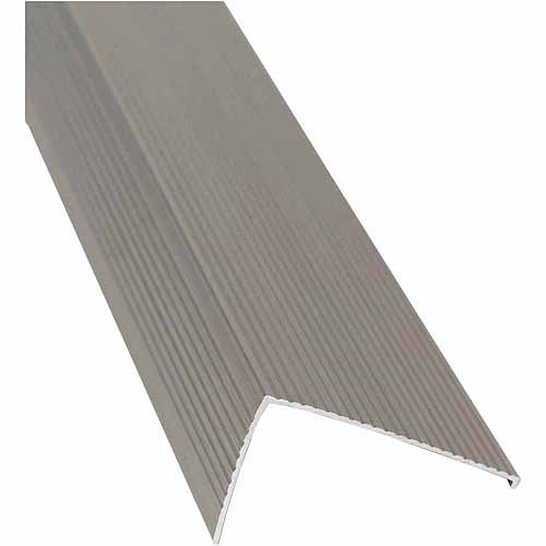 """M-D Products 25744 36"""" Satin Nickel Sill Nosing"""