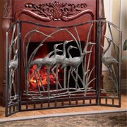 SPI Home 33791 Crane Flock Fireplace Screen