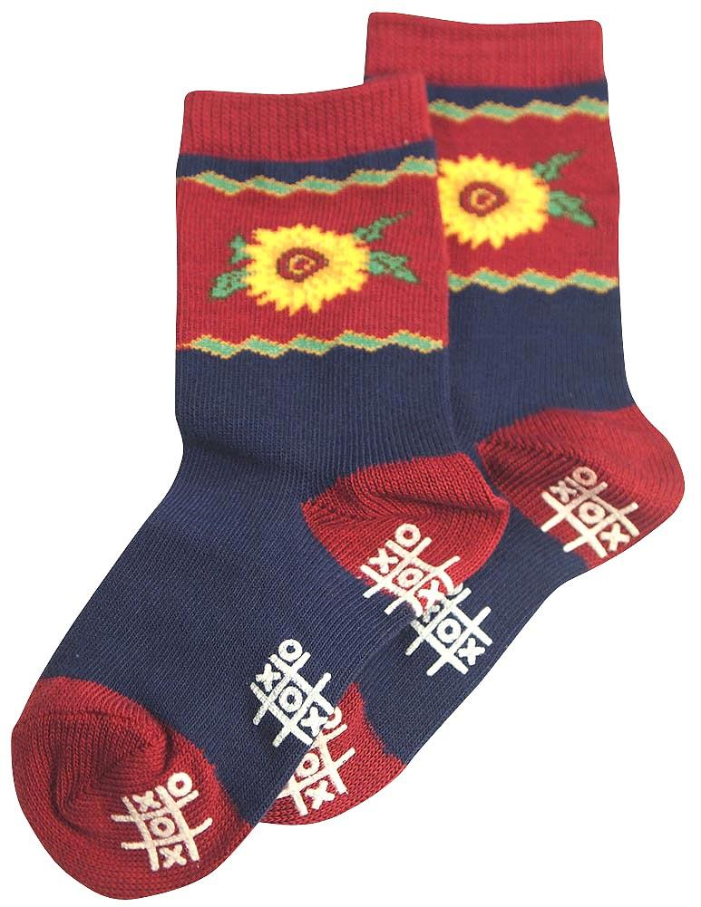 Tic Tac Toe Girls Sunflower Sock MULTICOLOURED / Default Title