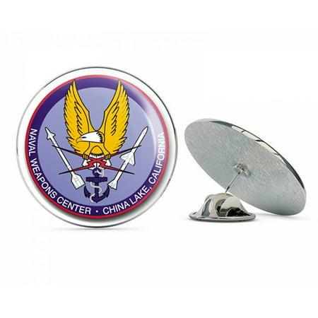 US Navy Naval Weapons Center China Lake, California  Military Veteran USA Pride Served Gift Metal 0.75
