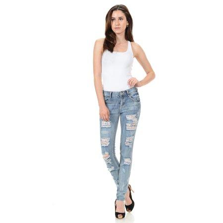 Sweet Look Premium Edition Women's Jeans · Skinny · Style N1130-R
