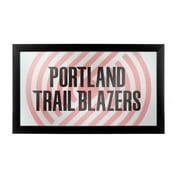 NBA Framed Logo Mirror - Fade - Portland Trailblazers