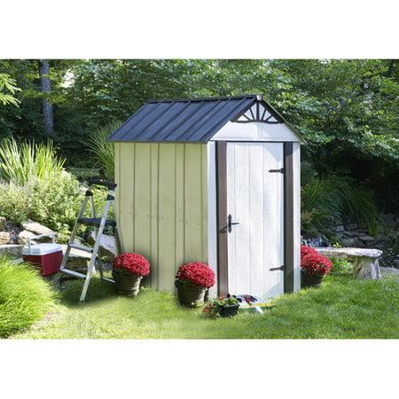 Suncast 98 cu  ft  Glidetop® Horizontal Resin Storage Shed