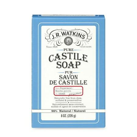 Watkins Peppermint Castile Bar Soap, 8 Oz