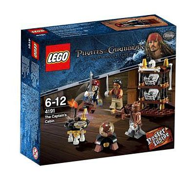 LEGO Pirates of the Caribbean The Captain's Cabin