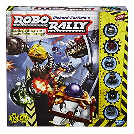 Richard Garfield's Robo Rally Avalon Hill Game - High School Rally Games