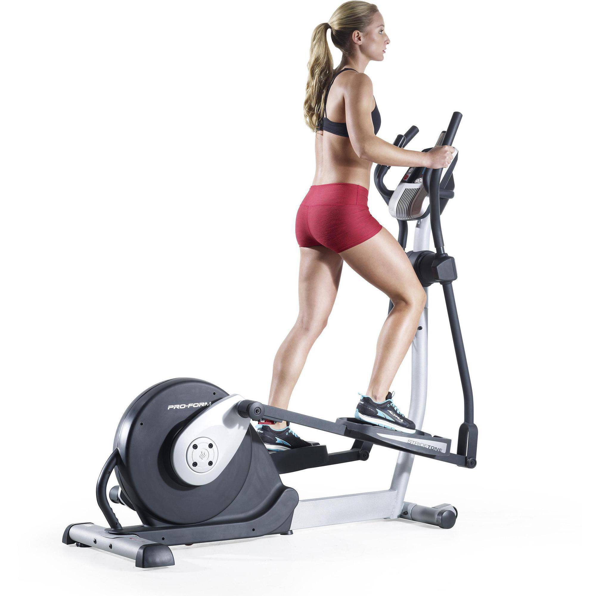 ProForm 600 LE Folding Elliptical Trainer with Workout Fan