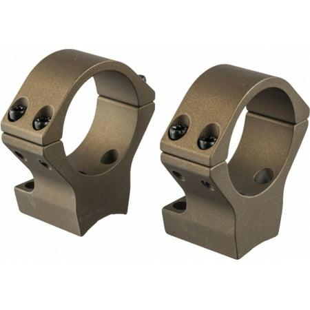 Talley 30mm X-Bolt Medium Hells Canyon Riflescope Rings, Burnt Bronze Cerakote,