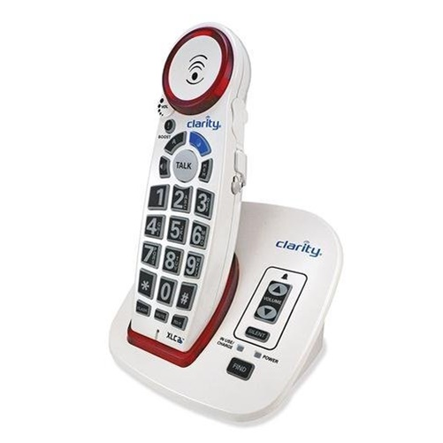 Clarity 59522.001 DECT 6.0 Amplified Big-Button Speakerphone with Talking Caller ID