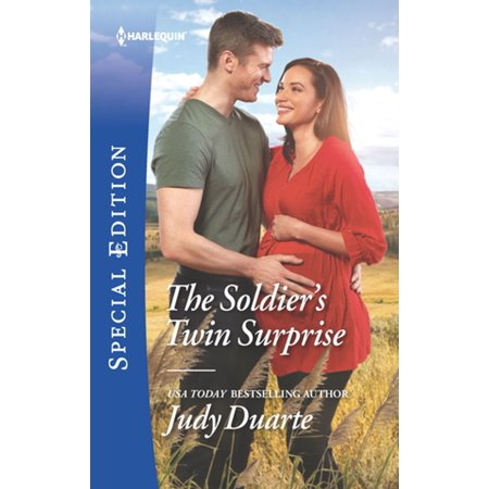 The Soldier's Twin Surprise - eBook (Soldiers Come Home And Surprise Loved Ones)